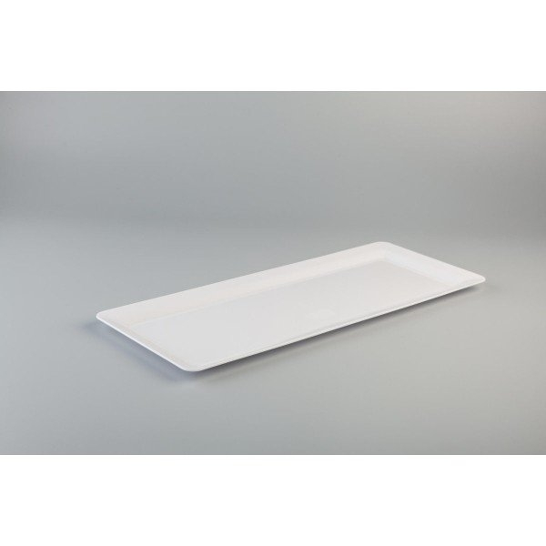 "PLATTER 22"" RECT WHITE ANCHOR EACH (PKT 10) CTN 40"