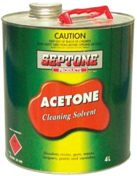 ACETONE 4LTR ITW