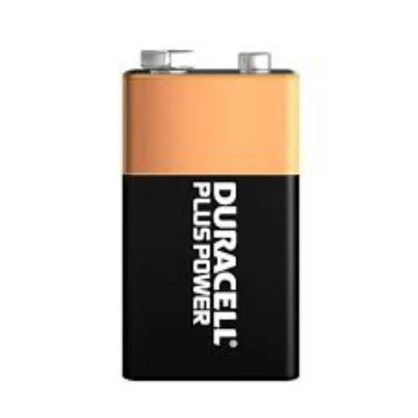 BATTERY DURACELL 9V GEN/STAT