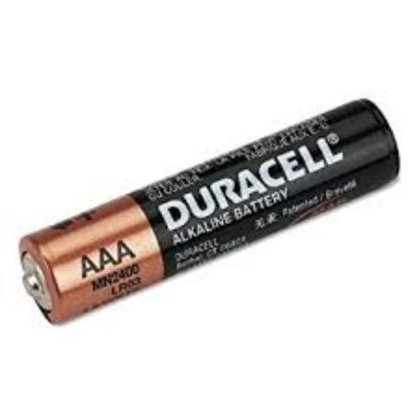BATTERY DURACELL 'AAA' ea (box 24)GS