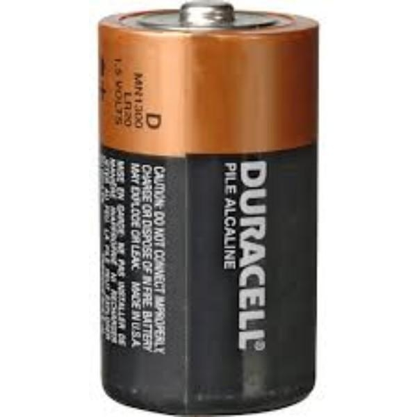 BATTERY DURACELL 'D' GEN/STAT EACH ( BOX 12)