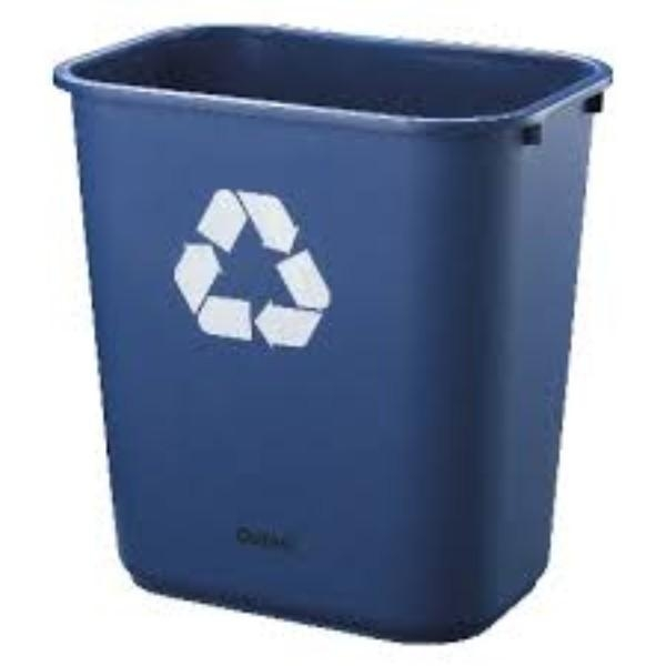 BIN BLUE RECYCLE 28L - Click for more info
