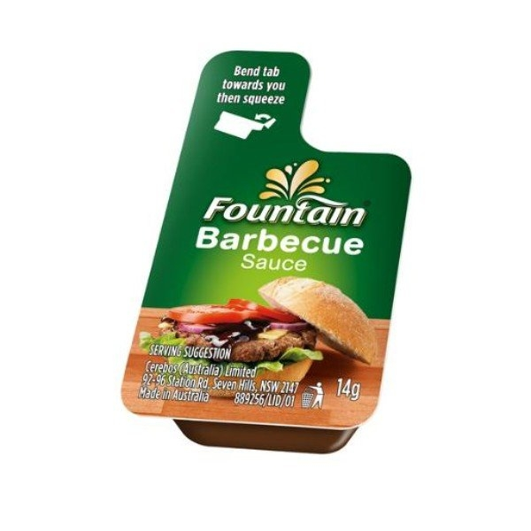 PORTION BBQ SAUCE FOUNTAIN PACK 10