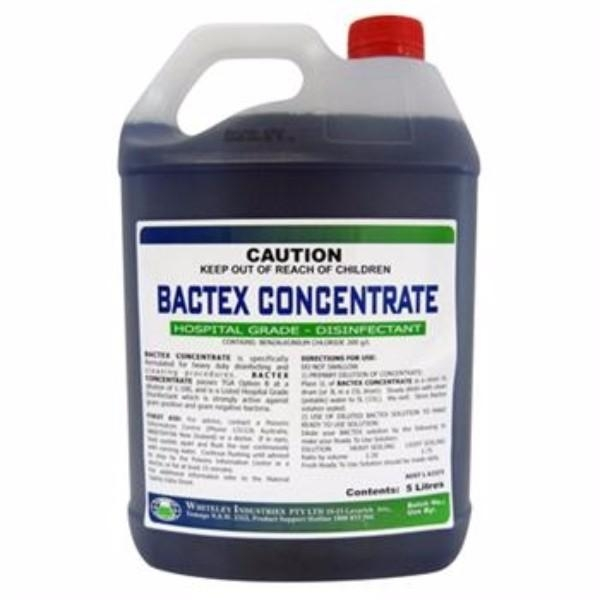 BACTEX CONCENTRATE 5LTR WHITELEY