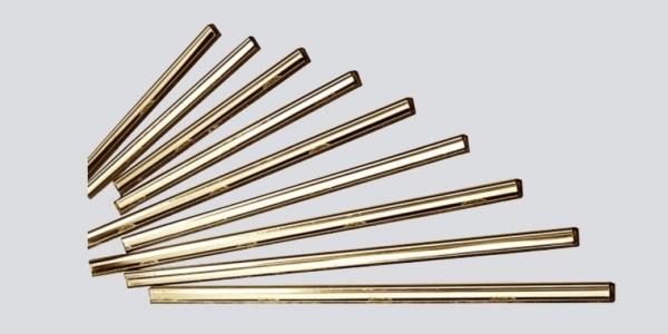 CHANNEL RUBBER BRASS ETTORE 16 INTERCLEAN