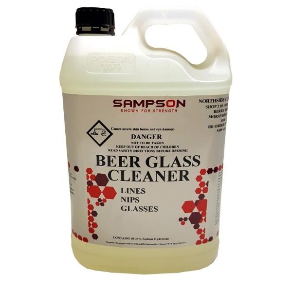 BEERGLASS & LINE CLEANER 5LTR SAMPSON