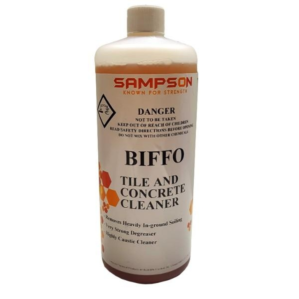 BIFFO 1LTR CONCRETE AND TILE CLEANER SAMPSON