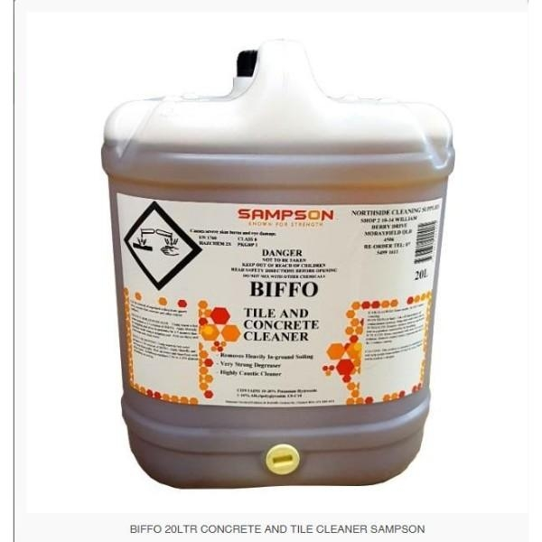 BIFFO 20LTR CONCRETE AND TILE CLEANER SAMPSON