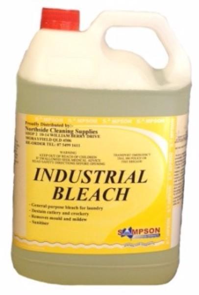BLEACH INDUSTRIAL 5LTR SAMPSON