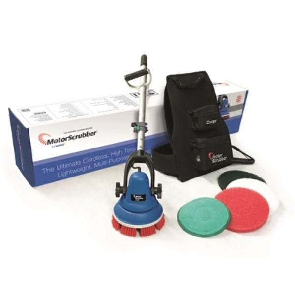MOTOR SCRUBBER STARTER KIT MED HANDLE - Click for more info
