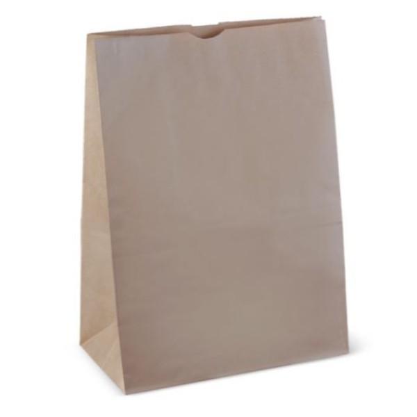 BAG BROWN PAPER SOS 20 432x305x175 PACK250