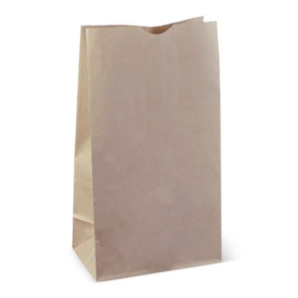 BAG BROWN PAPER SOS 12 350x178x115 PK100 (CTN500)