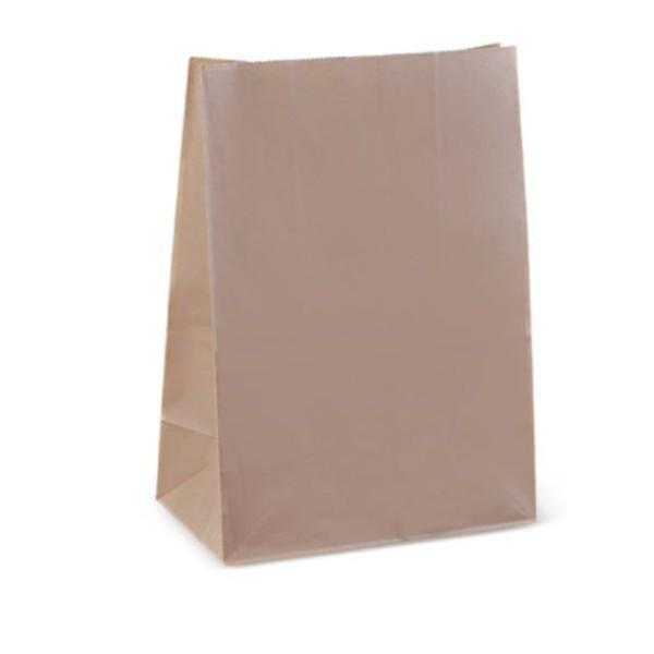BAG BROWN C SOS (305x215x121) PK100  (CTN1000)