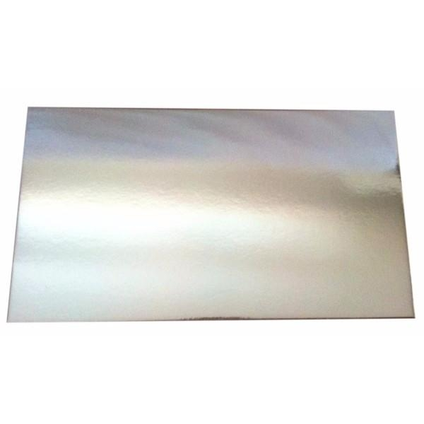 CAKE BOARD FULL SLAB SILVER PKT10 (CTN20) 435x735mm
