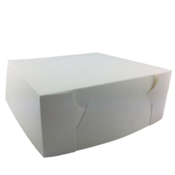 CAKE BOX 10 x 10 x 4 (100) 500UM