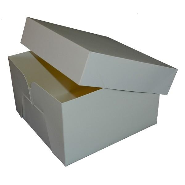 CAKE BOX 12x12x6 White pkt50