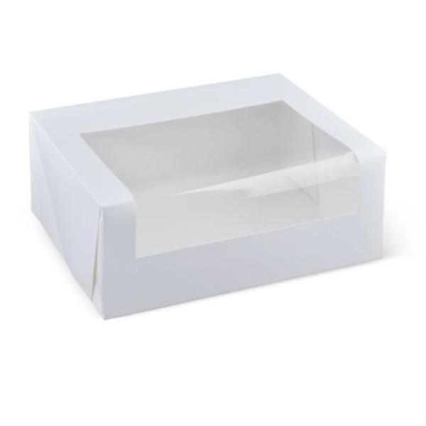 CUP CAKE BOX (SIX) EACH, PACK 10 (CTN100) DETPAK - Click for more info