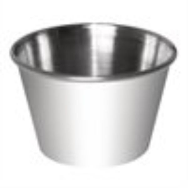 DIPPING/SAUCE CUP 230ML STAINLESS STEEL