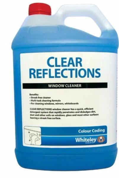 CLEAR REFLECTIONS GLASS CLEANER 5LTR