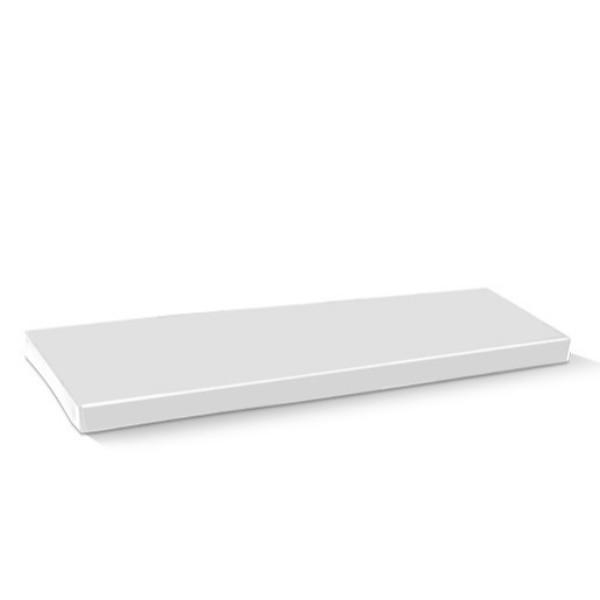 LID TRAY CATERING CLEAR MEDIUM 382x275x30 EACH  (CTN50)