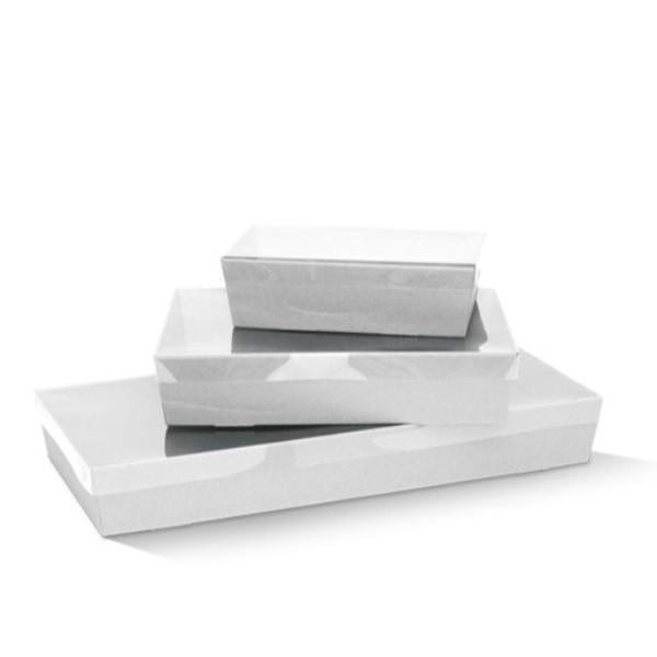 TRAY CATERING WHITE SMALL 255x155x80 EACH  (CTN50)