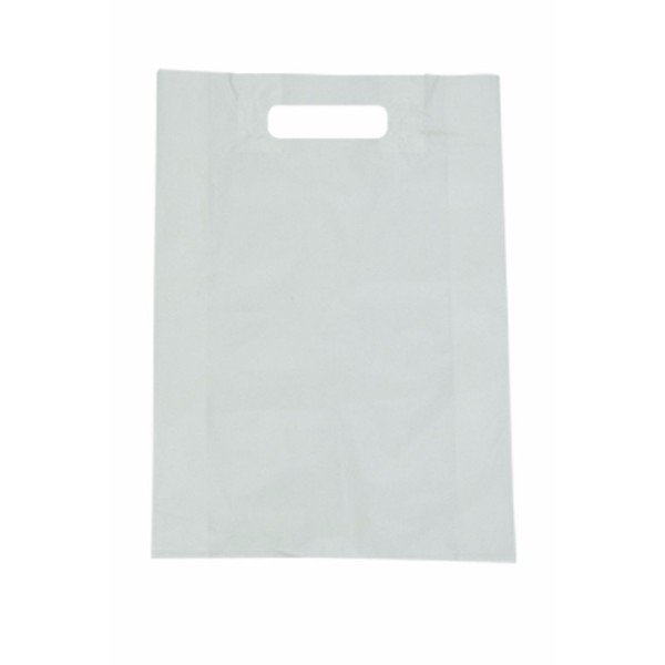 BAG POLY BOUTIQUE BABY WHITE PKT100 (CTN1000)