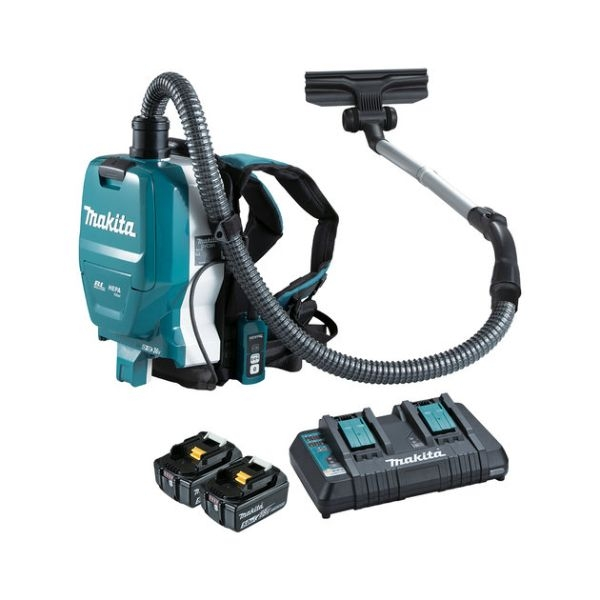 MAKITA BACKPACK KIT 18V BRUSHLESS INCLUDES CHARGER AND 2 BAT - Click for more info