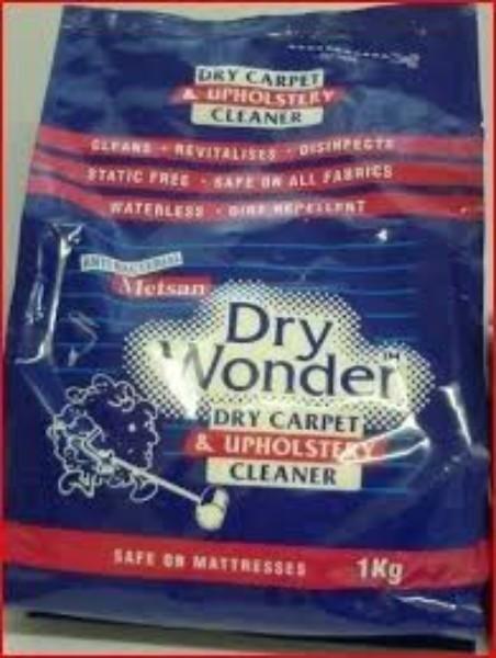 DRY WONDER CARPET & UPHOLS CLEANER 1KG