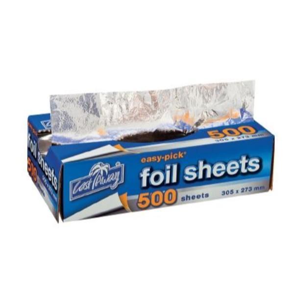 FOIL SHEETS POP UP 500 (305x273) BOX