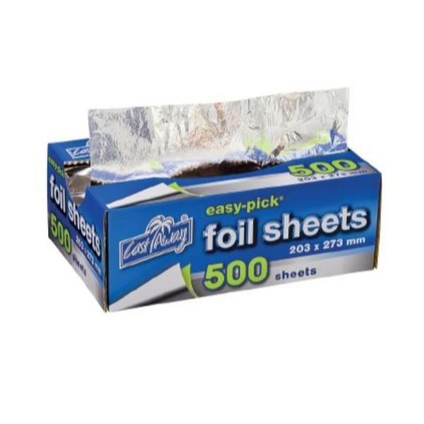 FOIL SHEETS POP UP 500 (203x273) EACH (CTN6)