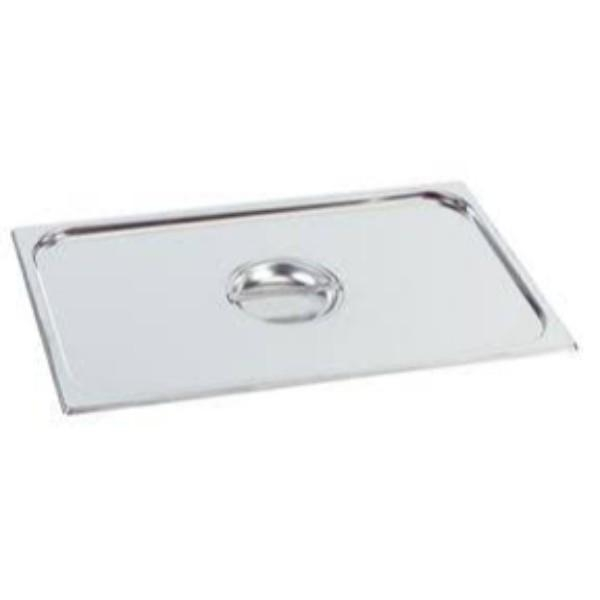 LID STEAM PAN 1/1 HEAVY DUTY STAINLESS STEEL