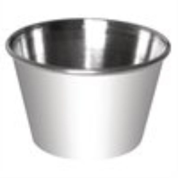 SAUCE CUP 115ML STAINLESS STEEL
