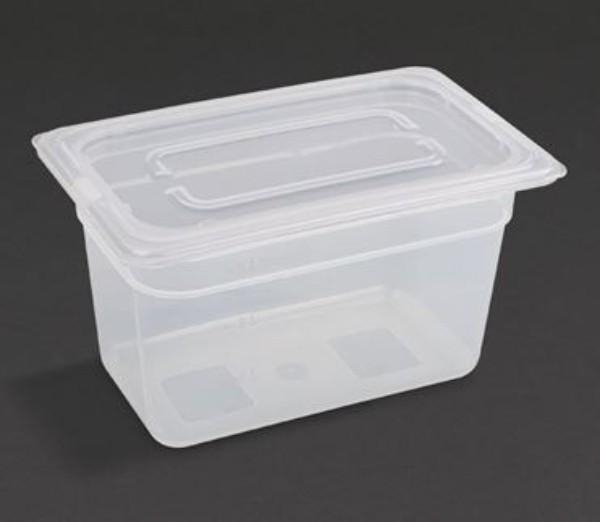 1/4 POLYPROPYLENE  150MM CONTAINER WITH LID