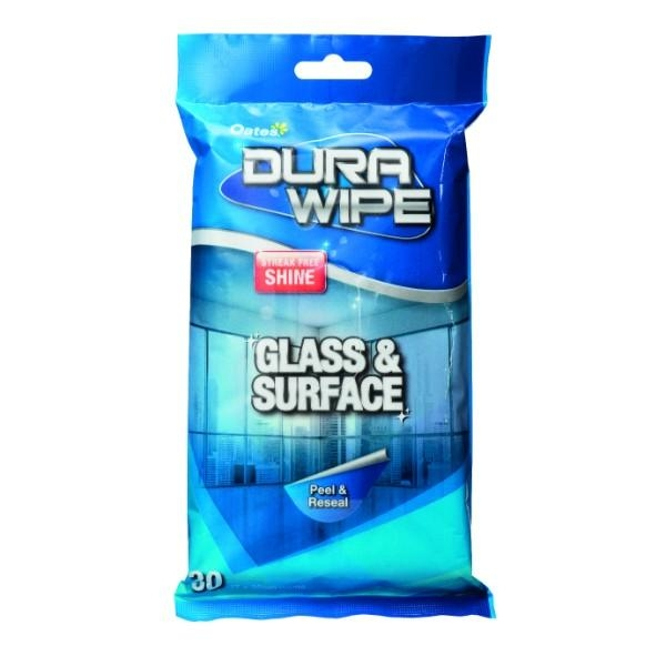 DURAWIPE GLASS AND SURFACE PK30 OATES