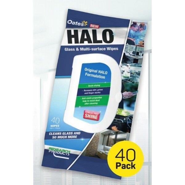 HALO WIPES (40PK)