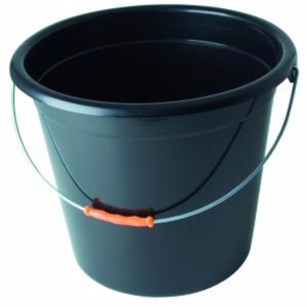 BUCKET 10LT PLASTIC W/ HANDLE OATES