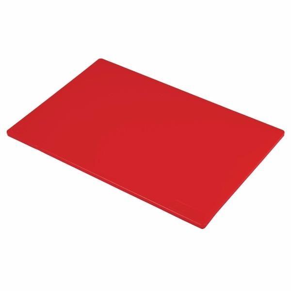 CUTTING BOARD (RED) 300x450x13mm