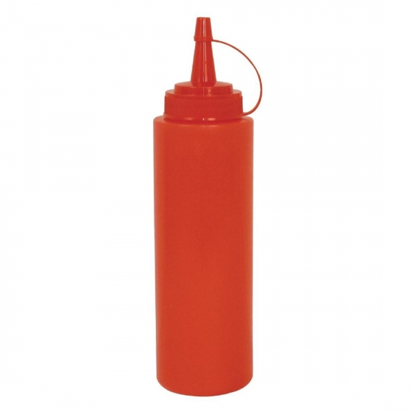 BOTTLE SAUCE 340ML RED