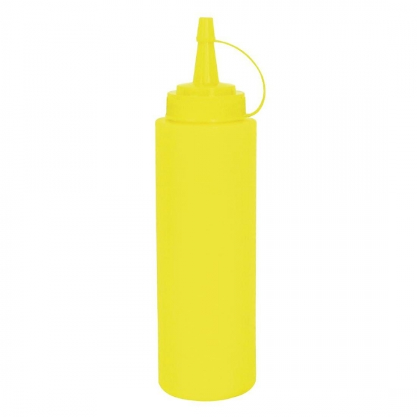 BOTTLE SAUCE 681ML YELLOW H/S