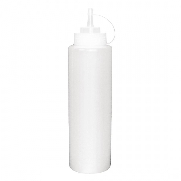 BOTTLE SAUCE 681ML CLEAR