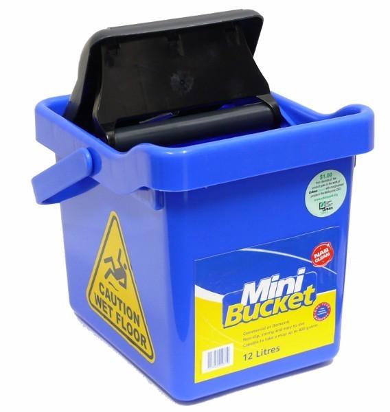 BUCKET MINI WATER SAVER 12L BLUE