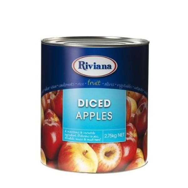 APPLES DICED RIViANA A10 2.75KG