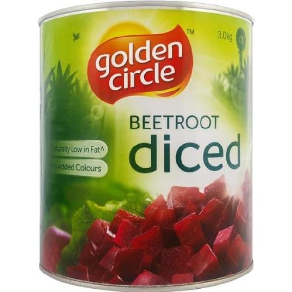 BEETROOT DICED 3.2KG G/CIRCLE EA
