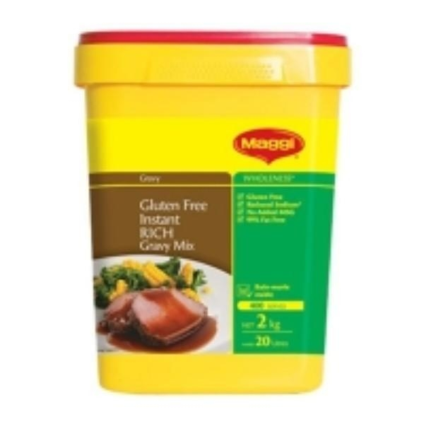 GRAVY MAGGI INSTANT RICH MIX GLUTEN FREE 2KG - Click for more info