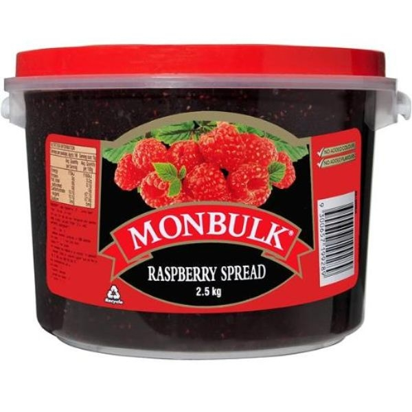 RASPBERRY JAM 2.5KG (KRAFT) - Click for more info