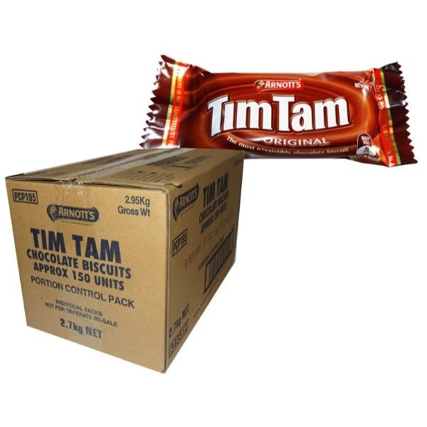 PORTION BISCUITS TIM TAMS 150S CTN CAM