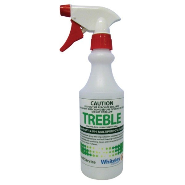 BOTTLE 500ML TREBLE WHITELEY