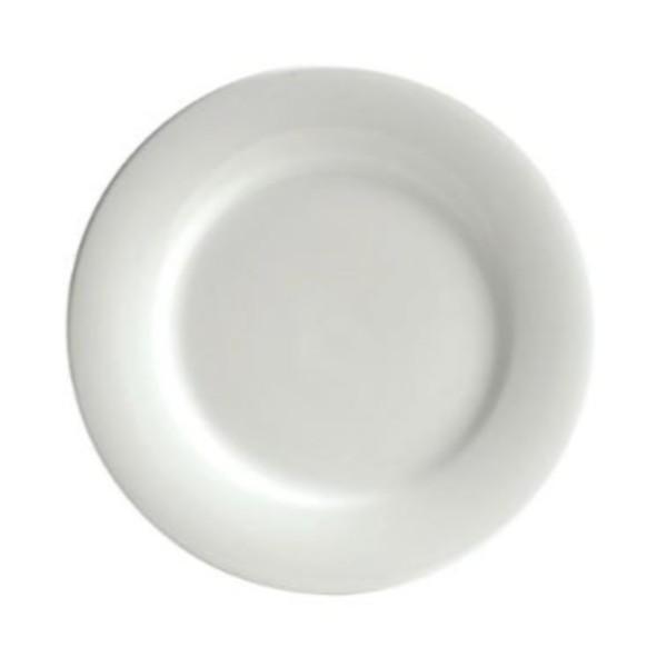 BISTRO PLATE ROUND WHITE CHINA 305MM