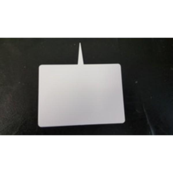 FOOD TICKET WHITE SPIKED LARGE 120 X 160