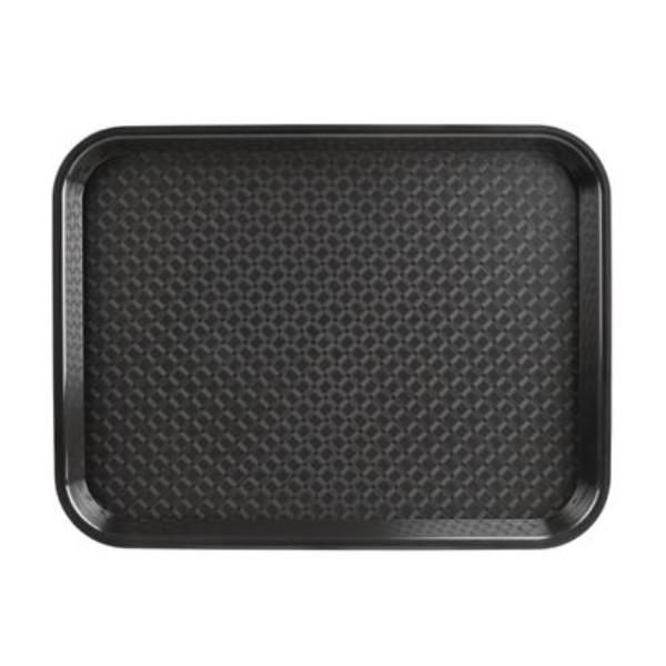 TRAY PLASTIC BLACK 45X35CM EACH P507